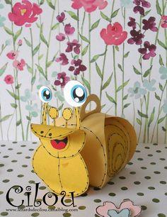 Snail Curvy Keepsake Box
