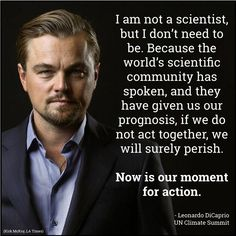 If you know someone who doesn't prioritize climate change in their life, please, talk to them. Research because you care about and share the message because you want to preserve it. This movement needs you, it needs everyone. Save Our Earth, We Are The World, Environmental Issues, Our Planet, Leonardo Dicaprio, Global Warming, Climate Change, Knowledge, Nasa