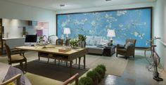 #decoração  Tem um apartamento pequeno? Veja algumas soluções de decoração apresentados na Casa Cor: http://bbel.me/1tuREfO.