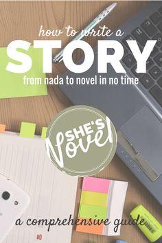 How to Write a Story | She's Novel