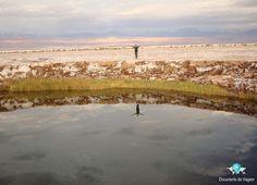 Ojos Del Salar no Deserto do Atacama - Chile.