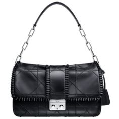 Dior new lock bag in black dr508