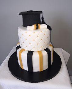 Made my first cake #graduation #cake #baking