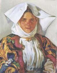 Filippo Figari; Atzara woman
