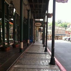 Eureka Springs, Ark. - our 25th anniversary trip - and lots of other times. Love Eureka!