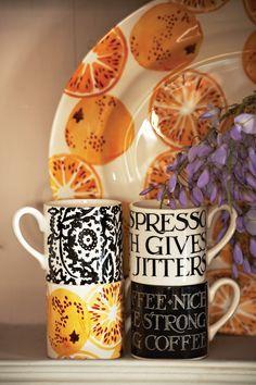 Emma Bridgewater Toast & Marmalade Boxed Set of 4 Espresso Cups