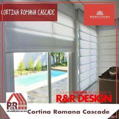Acompanhe na Revista DÁvila as matérias semanais da R&R Design como essa matéria sobre as cortinas romanas e também de todos os outros parceiros. http://ift.tt/1UOAUiP (link na bio).