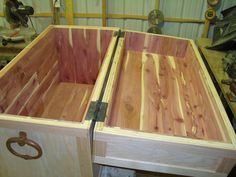 Inside of Pirate / Treasure Chest. Custom Project!