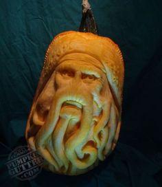 Davy Jones pumpkin, Pirates of the Caribbean