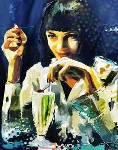 Mia Wallace  by Marius Markowski