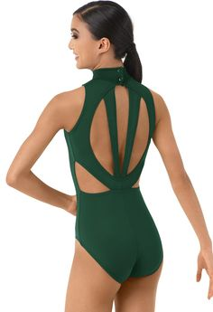 Mock Neck Back Cutout Dance Leotard | Balera™