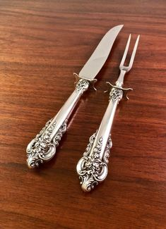 Blossom Time By International Sterling Silver Steak Knife Set 4pc Hhws Custom Selected Material Antiques Furniture