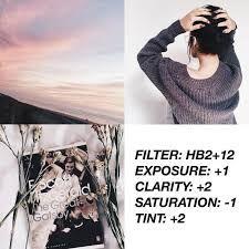 Resultado de imagen para filtros de vsco