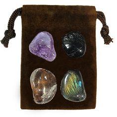 MEDITATION - Meditation Stone Set Crystal Healing Gemstone