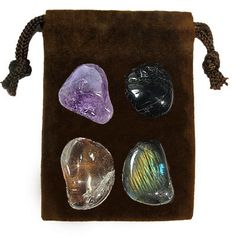 MEDITATION - Meditation Stone Set Crystal Healing Gemstone Kit. $4.95, via Etsy.