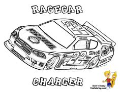 free nascar coloring pages the sports fan - Nascar Coloring Pages