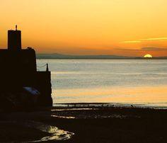 Sunset at Gyles Quay.