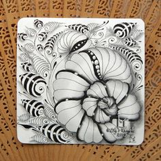 Lily's Tangles: 43. Weekly tiles