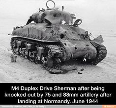 Knocked Out Sherman | History Wars
