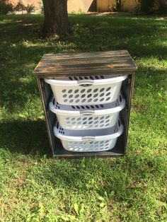 Hey, I found this really awesome Etsy listing at https://www.etsy.com/listing/479513763/laundry-basket-holder-rustic-black