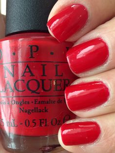 OPI Red Hot Rio - OPI Brazil Collection