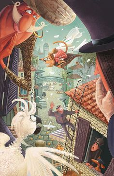 Some illustrations 2012 by Alla Bobyleva