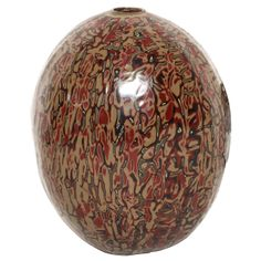 Art Deco Ovoid Vase by Jean Dunand | From a unique collection of antique and modern vases at http://www.1stdibs.com/furniture/more-furniture-collectibles/vases/