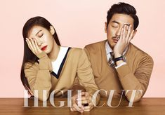 The stars of Chronicle of a Blood Merchant, Ha Ji Won and Ha Jung Woo are completely and literally attached to each other in their shots for the latest issue of High Cut. Check it!     &n...