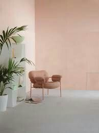 Lady Minerals Deco Pink 2782 - den flotte farve i Minerals Kalkmaling! Interior Design Inspiration, Home Interior Design, Color Inspiration, Interior Architecture, Interior And Exterior, Peach Walls, Pink Walls, Interior Pastel, Color Interior