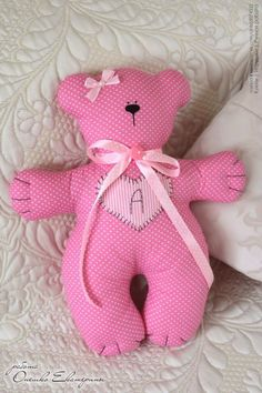 Teddys and Tilda Snails in Shabby Chic style - Her Crochet Baby Pillows, Kids Pillows, Softies, Baby Sewing Projects, Fabric Toys, Paper Toys, Sewing Dolls, Stuffed Animal Patterns, Soft Dolls