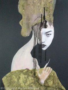 PORTRAITS ( AVAILABLE ) - Collage - Original