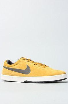 Nike Eric Koston SB Dark Gold Leaf Yellow Mens Skate Boarding Shoes 442476-701 Nike. $84.99