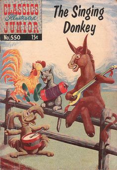 The Singing Donkey, May 1958 by froggyboggler, via Flickr