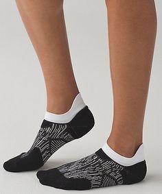 High Speed Sock *Silver, Black/White, $18, sz M/L