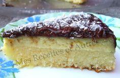 Gâteau Façon Bounty, Noix de Coco et Chocolat