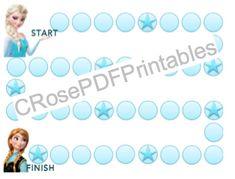 Frozen Behavior Sticker Chart PDF Printable by CRosePDFPrintables