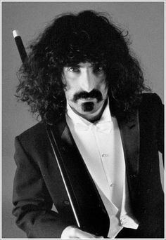 """""""Man suffers only because he takes seriously what the gods made for fun. Frank Vincent, Nina Hagen, Frank Zappa, Him Band, Music Photo, Music Icon, Music Bands, Music Artists, Rock And Roll"""