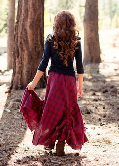The Perri Skirt is nothing like you've had before. The complex construction and beautiful silhouette is sure to keep the passerby in awe.