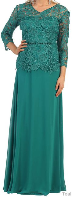 NEW SPECIAL OCCASION GOWNS MODEST EVENING DRESSES CHURCH ATTIRE FLORAL PATTERN #Designer #Dress