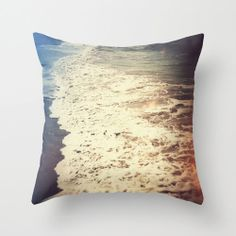 Pillow Cover Beach Bungalow Decor Throw Pillow Couch by NatureCity, $40.00