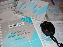 Wechsler Intelligence Scale for Children - Wikipedia, the free encyclopedia