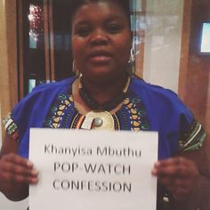 Khanyisa from #Iziqhaza lives a certain Glamorous tv show #popwatchconfession