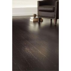 Dining room floor: Home Decorators Collection, Strand Woven Warm Espresso 3/8 in. x 5-1/8 in. Wide x 36 in. Length Click Engineered Bamboo Flooring (25.625 sq.ft/case), AM1312E at The Home Depot - Mobile