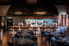 Stanton & Co., a refurbished industrial space boasts New York flare, couple with Modern Australian cuisine curated by Executive Chef Regan Porteous.