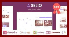 #airbnb #apartment #booking #bootstrap #directory #envato #free nulled theme #holiday rentals #homeaway #hotel #house #html5 #map listings #Open Street Maps #property #real estate #real estate listings #realtor #site templates #theme forest #wordpress free #wordpress templates #wordpress theme Click For Demo & Download   Selio – Professional modern designed Real Estate WordPress Theme, that will help you to run any type of real estate business.      Created for any real estate purpose and...