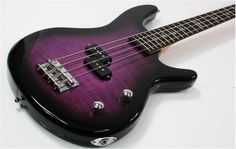 Purple Tiger Electric Bass Guitar, I wish I was wealthy and knew how to play bass Guitar Shop, Music Guitar, Playing Guitar, Guitar Tips, Guitar Lessons, Purple Guitar, All About That Bass, Beautiful Guitars, Guitar Collection