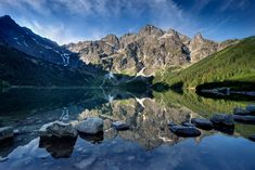 Poland, Tatra Mountains, Photo by Maciej Duczynski The Rock, The Places Youll Go, Places To See, Costa, Rio, Tatra Mountains, Natural, Nature Photography, Scenic Photography