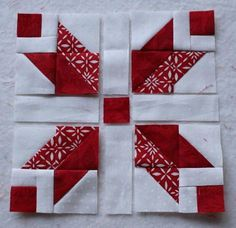 Find fun mini quilt patterns and dainty doll quilt patterns here. When you're looking for small quilted projects for practicing new techniques and playing with fabrics, free mini quilt patterns are just what you need. Star Quilt Blocks, Star Quilts, Mini Quilts, Christmas Quilt Patterns, Star Quilt Patterns, Christmas Quilting, Small Quilt Projects, Quilting Projects, Diy Gifts For Christmas