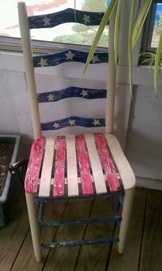 Revive a chair for a holiday!