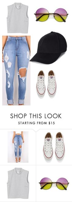 """""""Clothing random"""" by kijannakap on Polyvore featuring Converse, Monki, women's clothing, women, female, woman, misses and juniors"""
